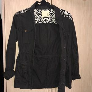 Forever 21 grey charcoal jacket size small